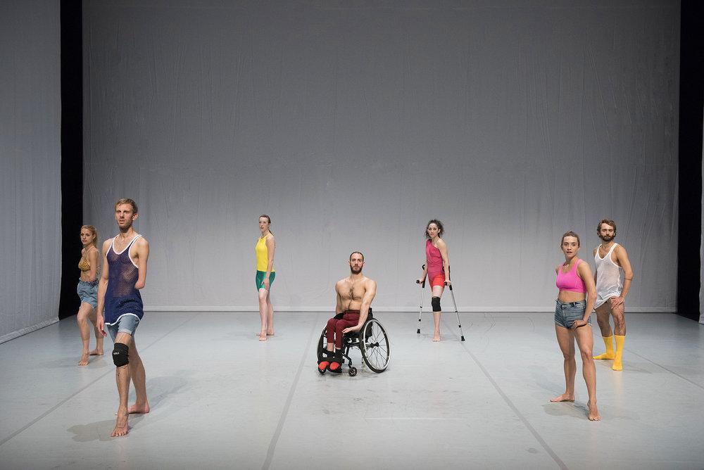 Photo: Hugo Glendinning. Dancers:  Laura Patay, Toke Broni Strandby, Megan Armishaw, Joel Brown, Mickaella Dantas, Olivia Edginton, Nicolas Vendange