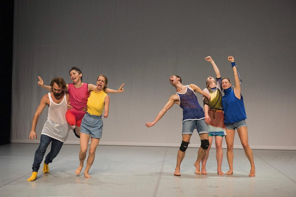 Photo: Hugo Glendinning. Dancers:  Nicolas Vendange, Mickaella Dantas, Laura Patay, Toke Broni Strandby, Megan Armishaw, Olivia Edginton