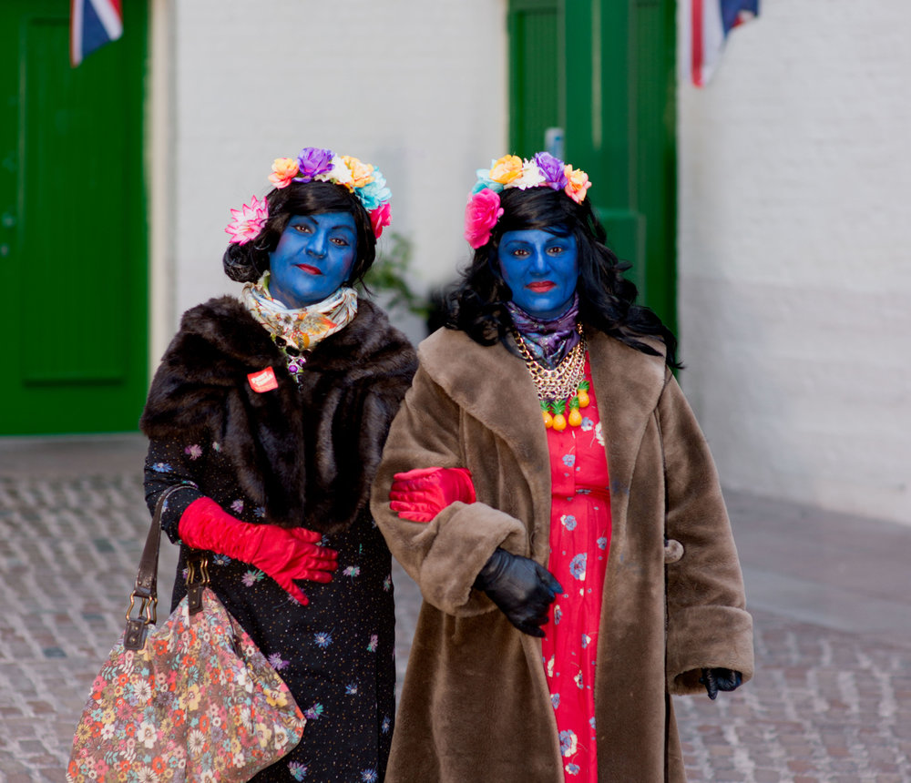 The Blue Ladies at Funny Things 2017