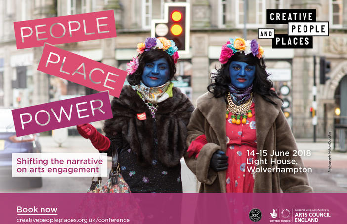 The CPP conference used an image of the Blue Ladies from Funny Things 2017 to represent the event