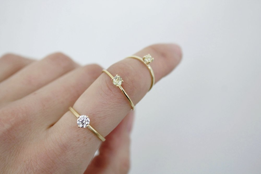 ENGAGEMENT - WITH POLISHED & ROUGH DIAMONDS