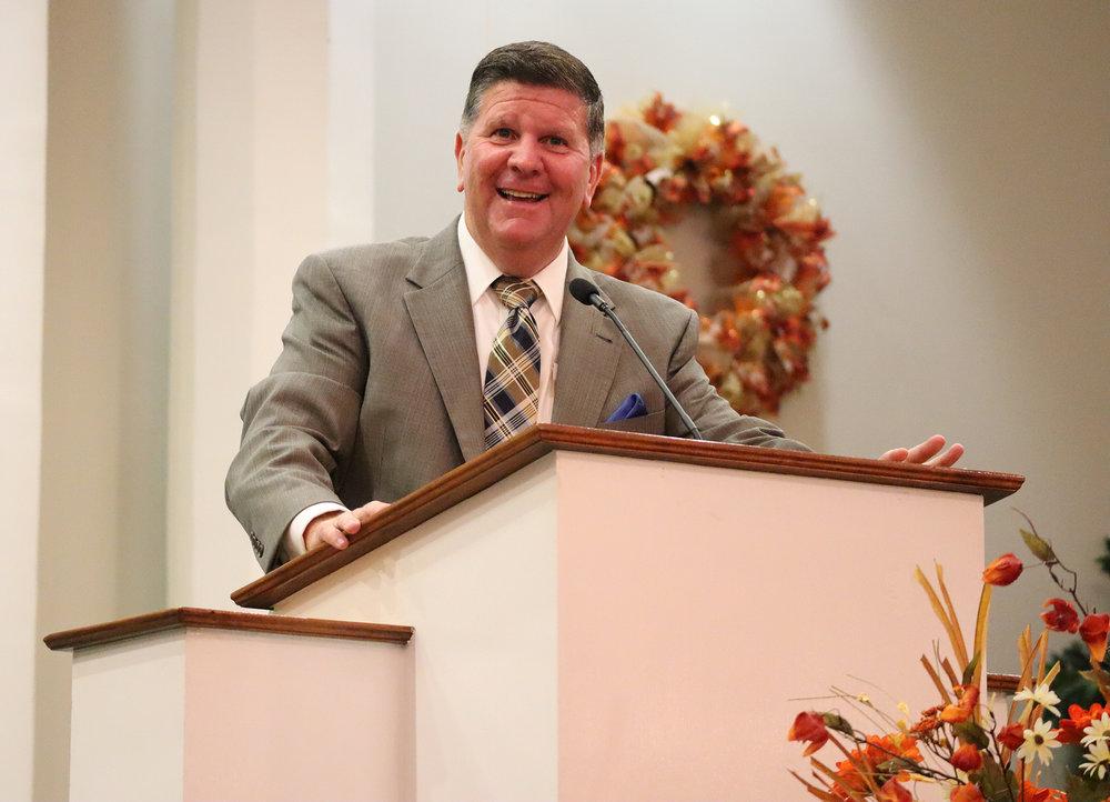Dr. Eric M. Tharp,  Pastor