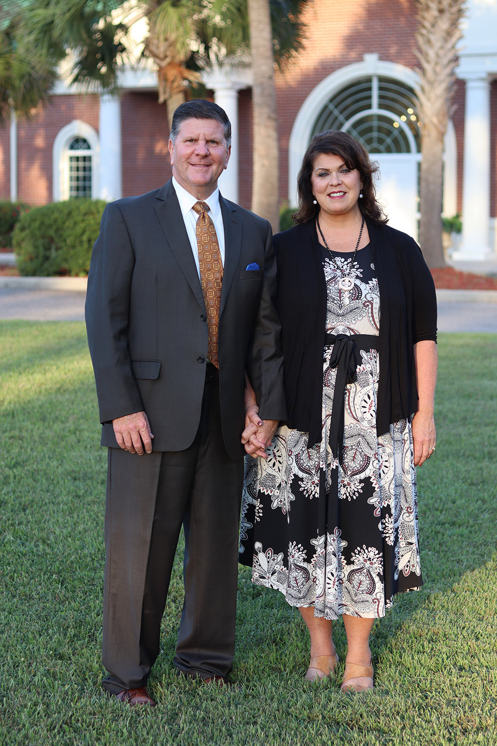 Pastor Eric Tharp and his wife, JoAnne