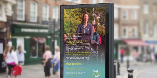 Public Health Wales' 'Do it your way' campaign created advocates out of the target audience.