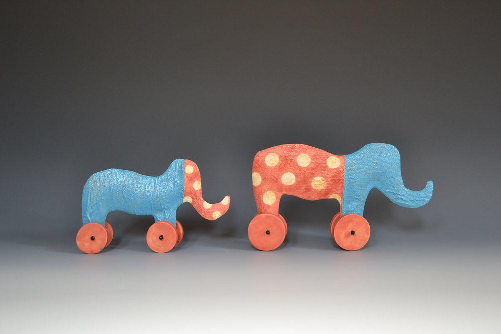 Elephants Lynn Frydman Kuhn