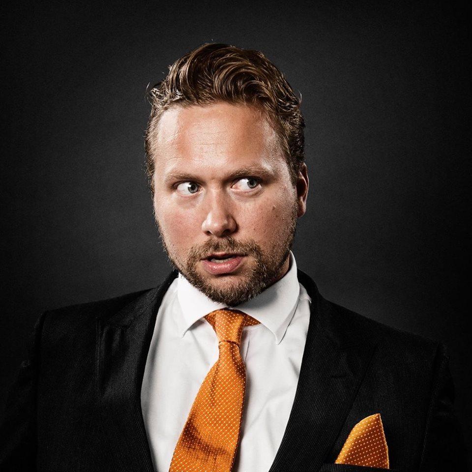 Grim Moberg - Komiker og podcaster i Pappapanelet