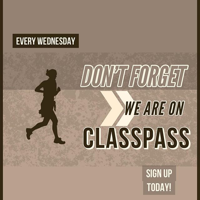 🗣 #TWERKCHAMPIONS Don't forget that we are STILL on CLASSPASS!!! Sign up today!
