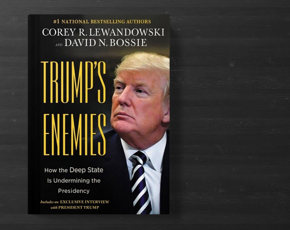 Corey R. Lewandowski and David N. Bossie, the authors of the blockbuster, Let Trump Be Trump, are back with their next New York Times bestseller. - This book will reveal the heart of the hostile bureaucratic network that has been operating in the shadows until the American people voted Trump into office. Trump's determination to transform the government, wipe out the swamp, and reduce the power of the bureaucratic machine has set him on a collision course with agencies populated by a workforce resistant to the American people's agenda.⟶ Order Now