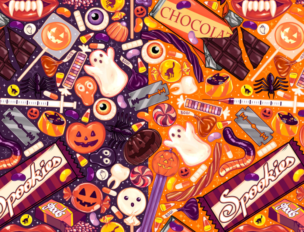 creepy halloween candy -