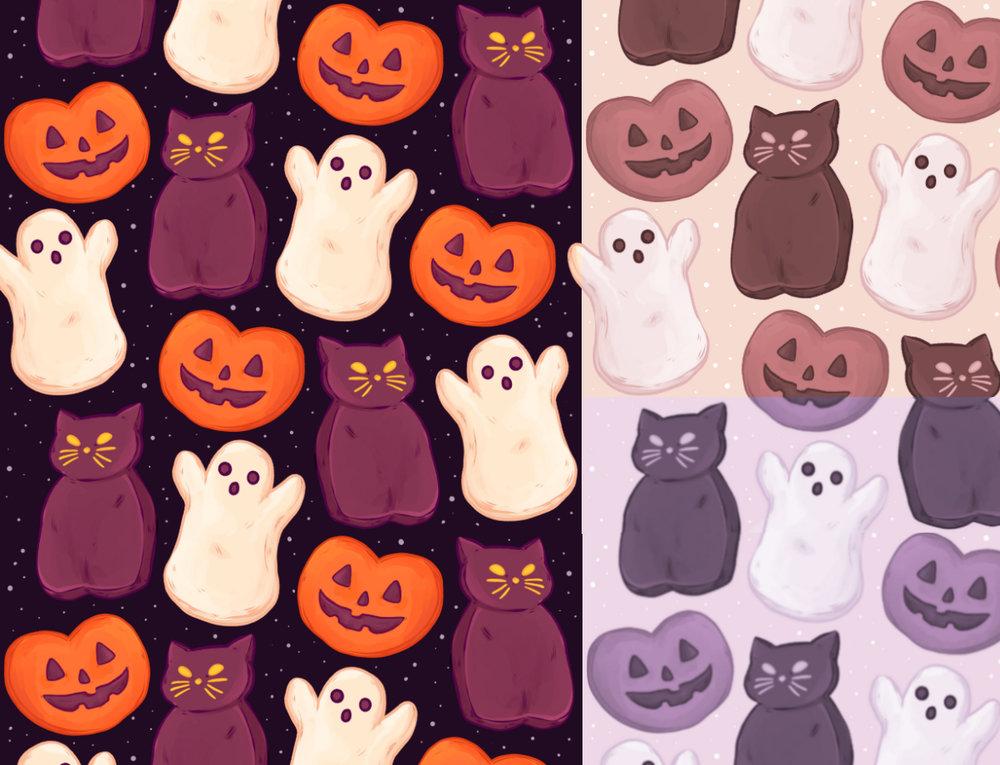 Halloween Marshmallows -