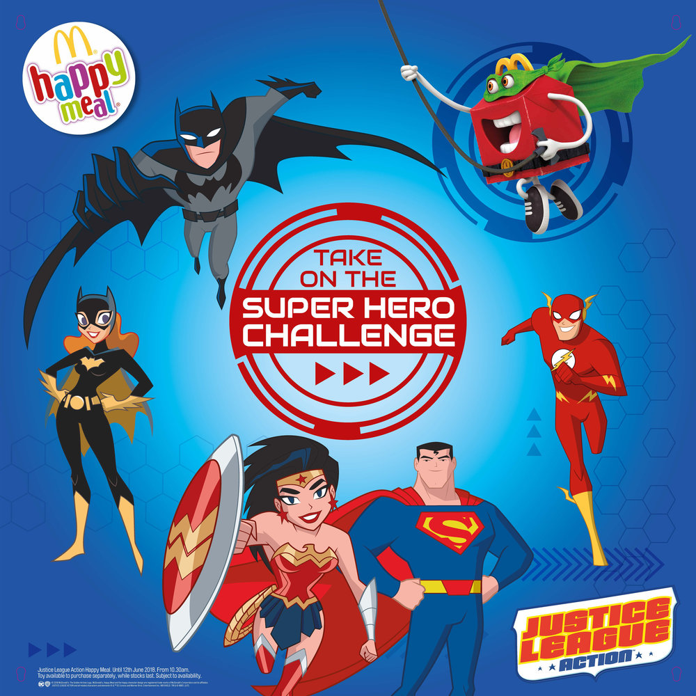 Click to see the Justice League Action campaign