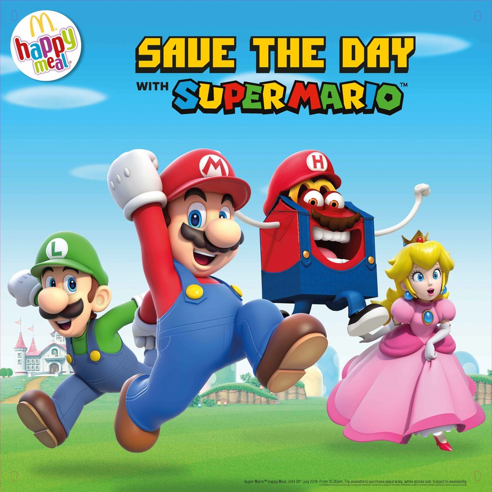 Click to see the Super Mario campaign