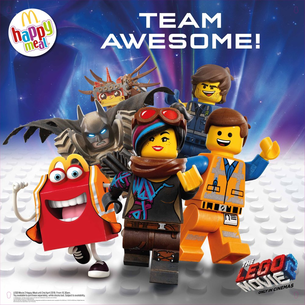 Click to see the Lego Movie 2 campaign