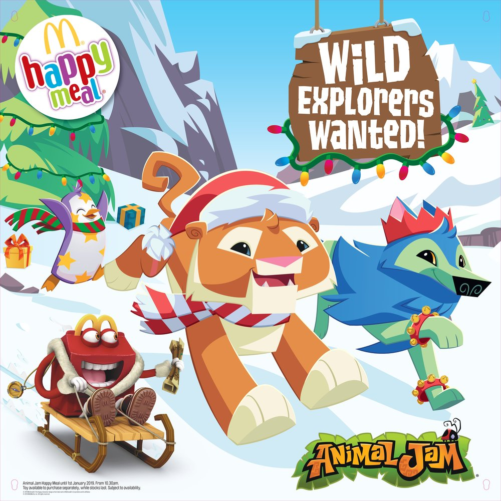 Click to see the Animal Jam campaign
