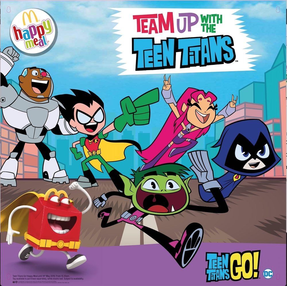Click to see the Teen Titans Go! campaign