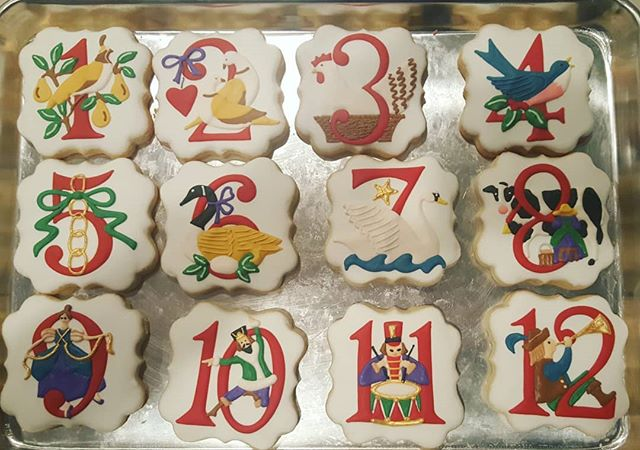Here are the cookies KM was doing during our interview!