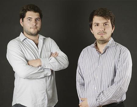 Guillermo Elizondo  (CEO)  y Gerardo Sáenz González  (CTO)