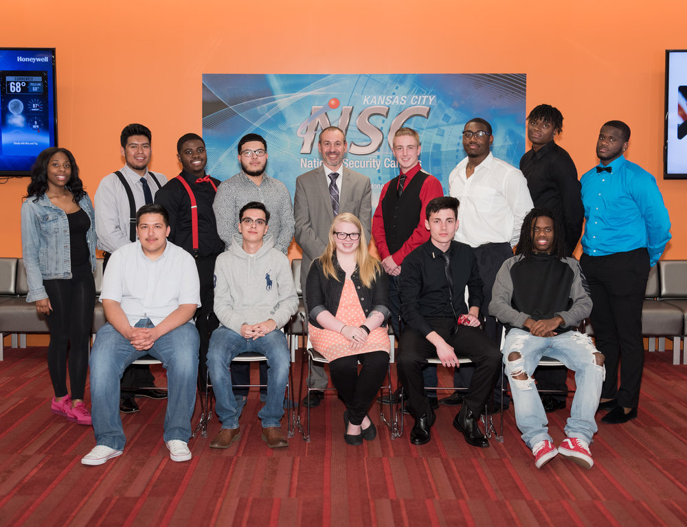 The 2018 HOPE Scholarship recipients were recognized at Honeywell's STEMM Education Celebration.