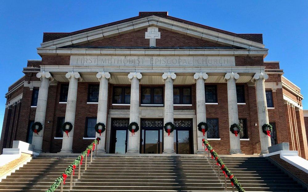 Copy of Christmas Eve Candlelight Service Salina Kansas Salina First United Methodist Church