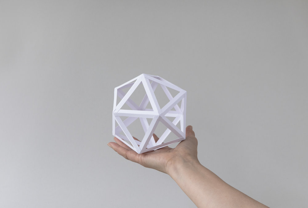 Series 1: Platonic Solids White