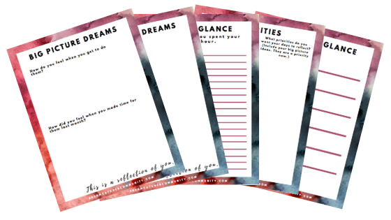 PDF Downloads - To dive deeper and reflect on what you are learning.