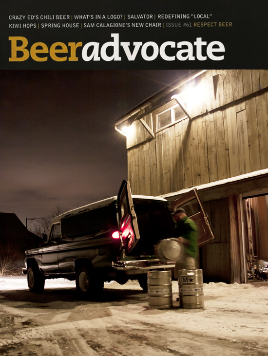 Spring House is featured on the cover of the February 2012 issue of Beeradvocate!  Click here to read the article.