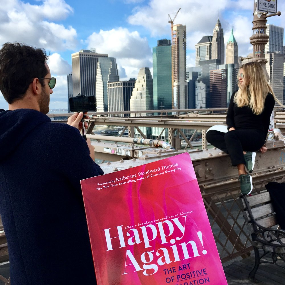 @happyagain #brooklynbridge #NYC