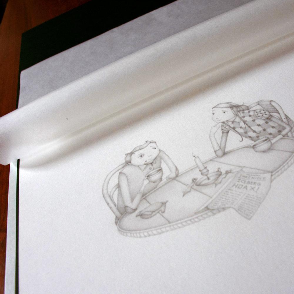 Nicholas Gannon Society of Illustrators Original Art Show