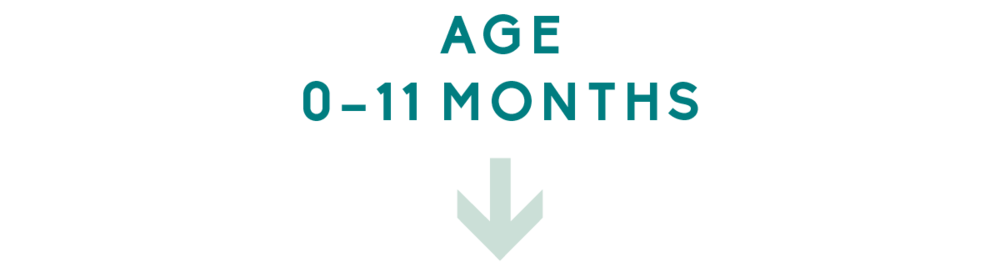 Age 0 – 11 Months