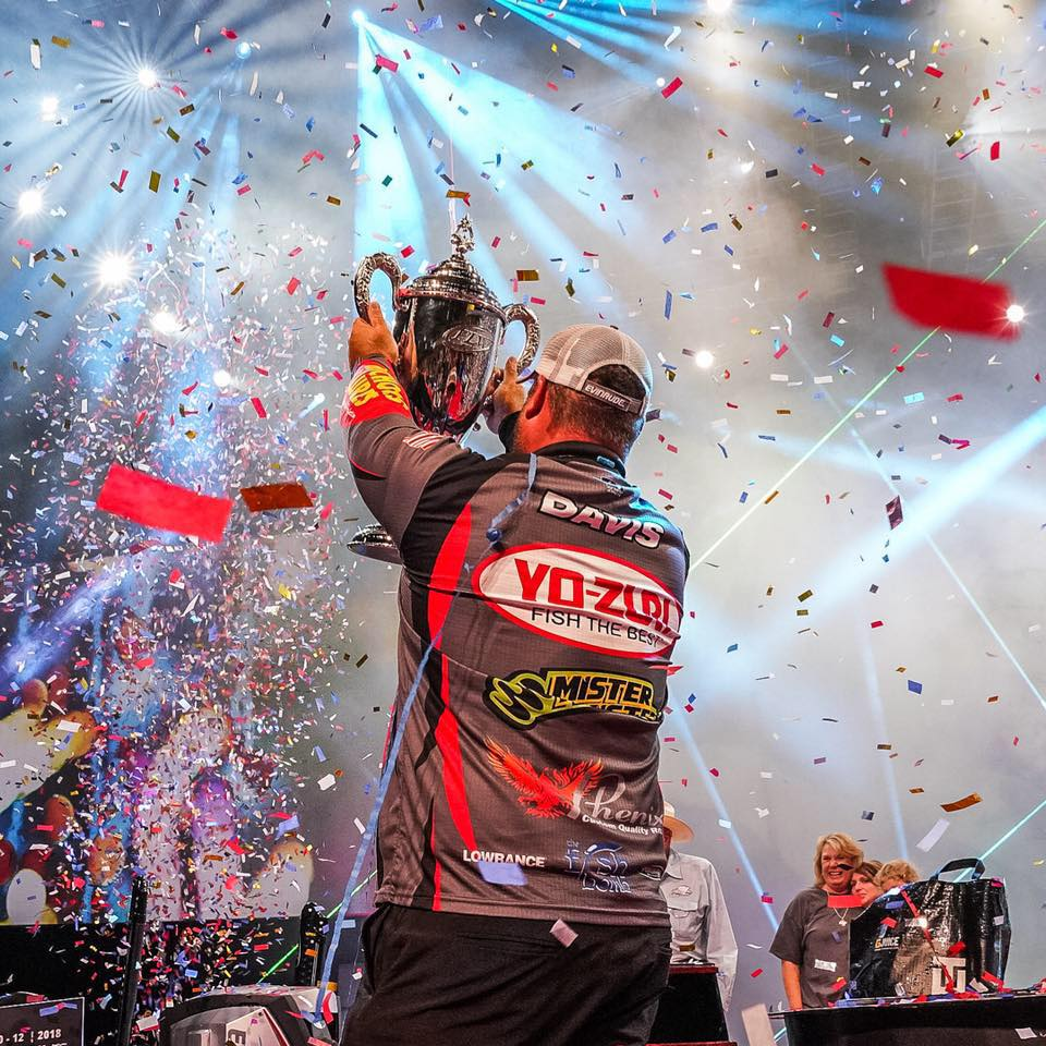 2018 FLW Forest Wood Cup Champion Clent Davis exposed the masses to Mister Twister Lures