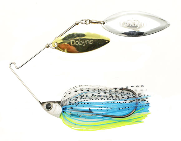 The Dobyns D-Blade is part of a new line of baits and terminal tackle from Gary Dobys