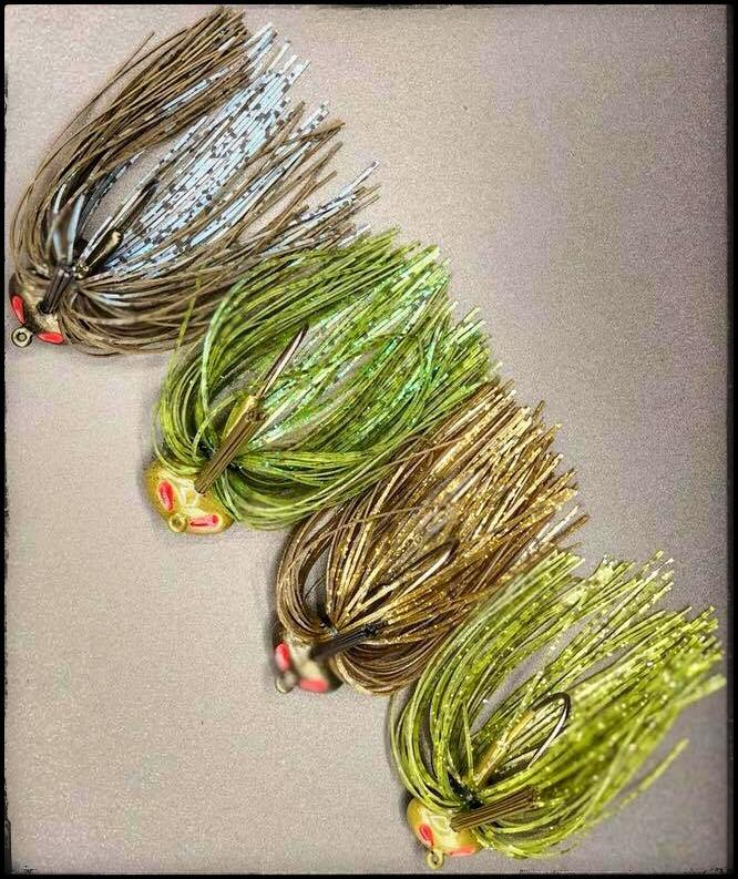 New football Jig colors for 2019 from Omega Custom Tackle