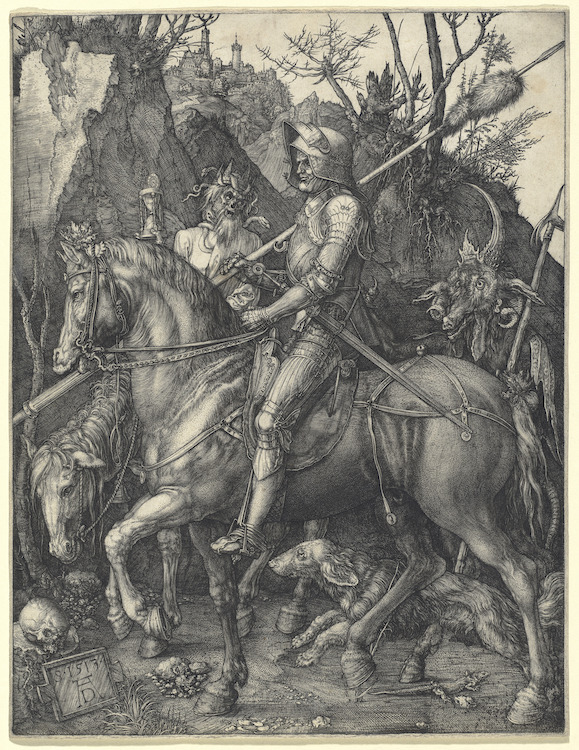 "Albrecht Dürer - ""Knight, Death and Devil"""