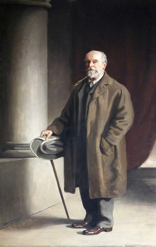 Sir John Heathcoat-Amory (1829–1914), Bt, MP for Tiverton (1868–1885)