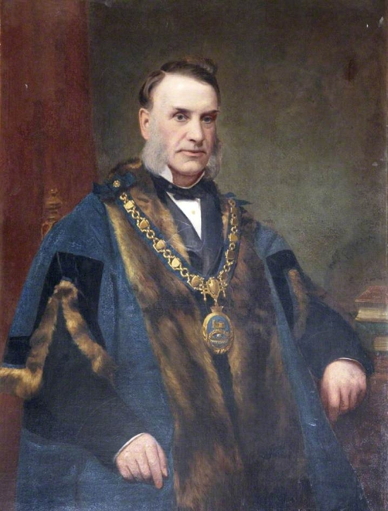 George W. Cockram, JP, Mayor of Tiverton (1875–1877)