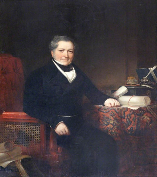 Sir John Heathcoat, Esq., JP, MP for Tiverton (1832–1859)
