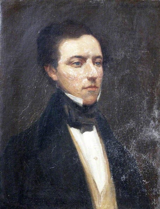 William Hornsey Gamlen, Esq., of Hayne, Aged 29, Mayor of Tiverton (1843–1844)