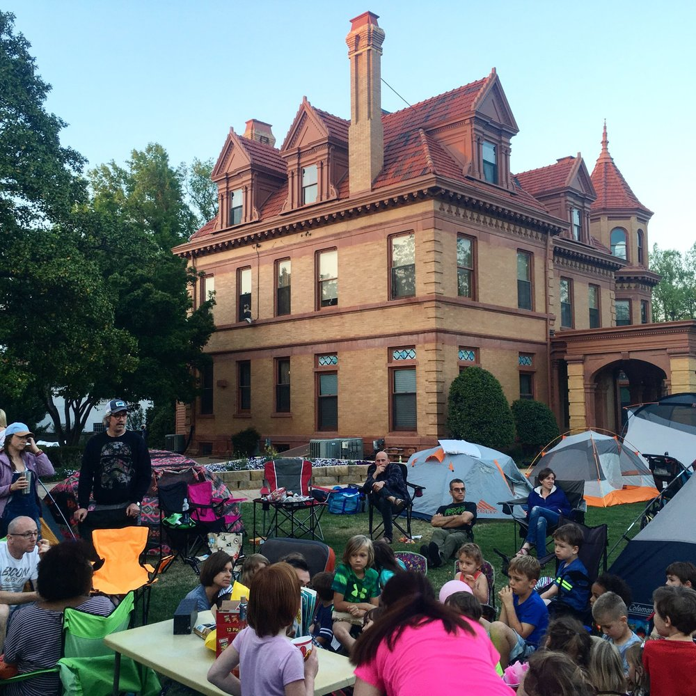 Urban Campout - May 18-19, 20194:30pm-10:00amHenry Overholser Mansion405 NW 15th StreetOklahoma City