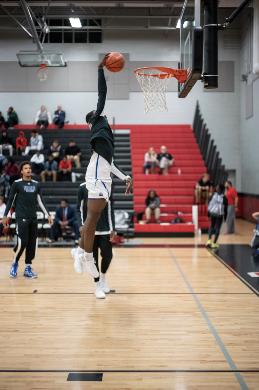 Dunks, Dunks & More Dunks - The inaugural Battle at the Rock Basketball Showcase was a smash. Sold out crowds, Allen Iverson, and a slew of the top High School Basketball Players in the country. Battle At The Rock 2019 is coming to Rock Hill.Photos From Day 1:Photos From Day 2: