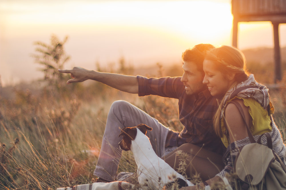 Couple Enjoying a Sunny Day with Dog.jpg