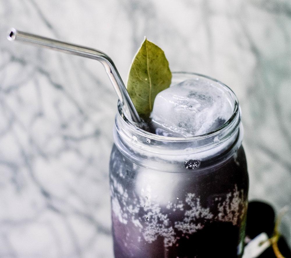 elderberry spritz