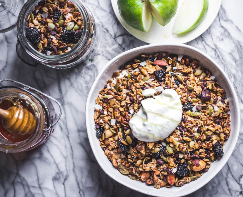 seed cycling recipe granola - Rune Haus Recipes