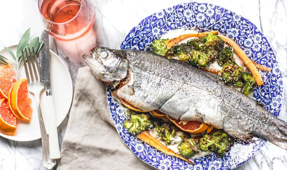 Rune Haus Recipes - trout
