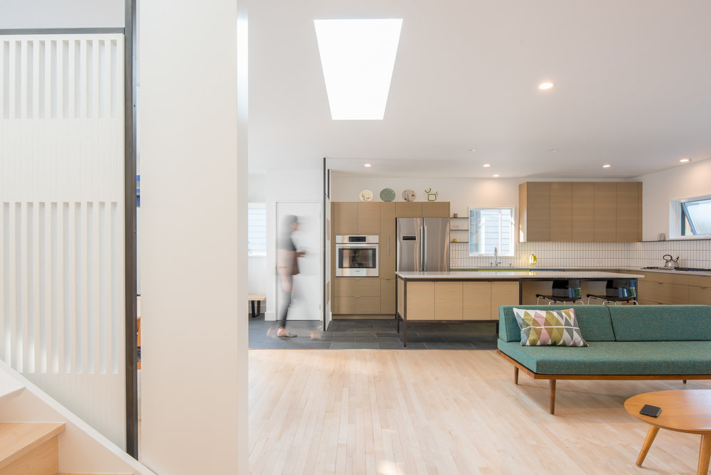 Mid-century home remodel in Minneapolis