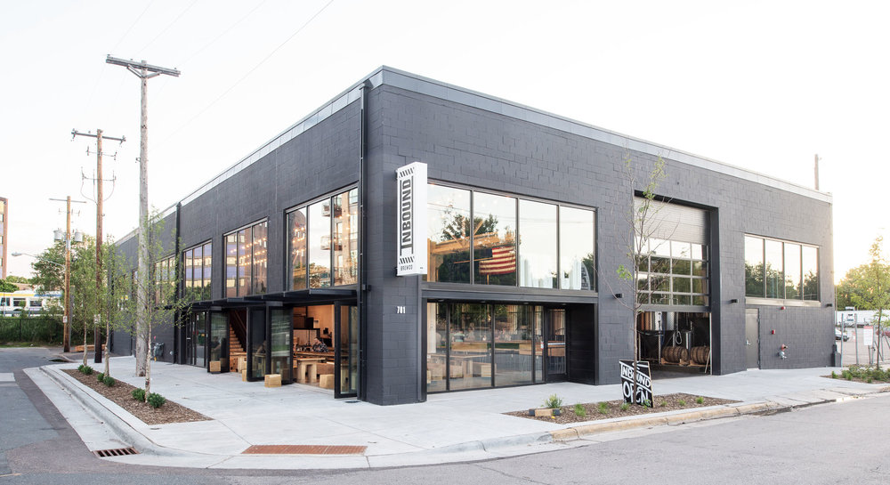 Inbound BrewCo modern renovation in Minneapolis by Christian Dean Architecture.
