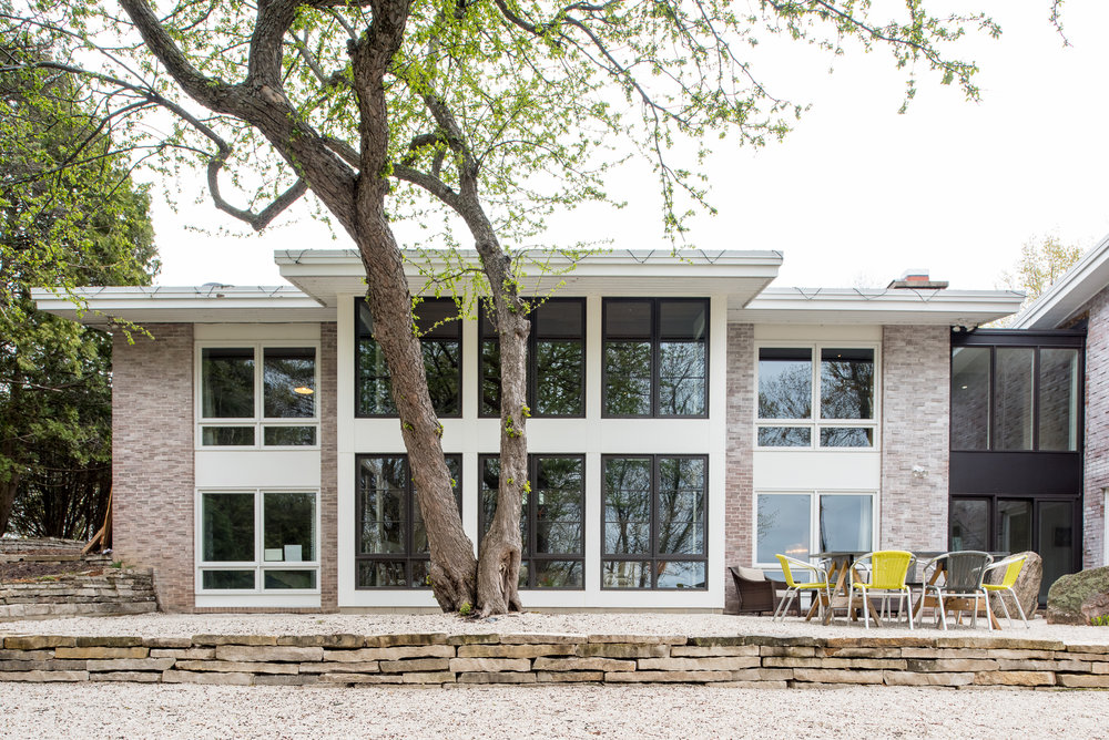Modern home renovation in Wayzata, MN by Christian Dean Architecture