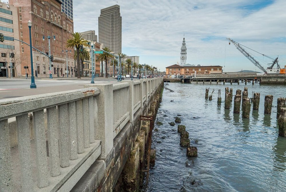 Seawall - 3.7.2018 - Seawall on Embarcadero Ferry Building with Crane.jpeg
