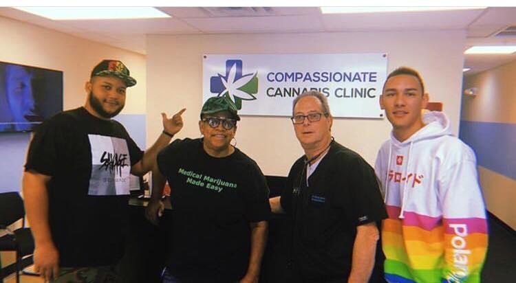 Compassionate Cannabis Clinic with Dr. Barry Gordon - Chef Jor-El Pizarro, Yvette Staford, Dr Barry Gordon and Joshua Almodovar