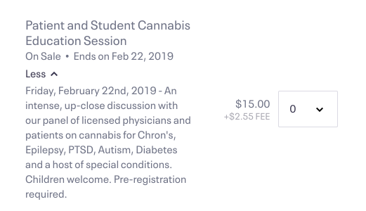 DISCOUNTED PRICING FOR PATIENTS AND STUDENTS