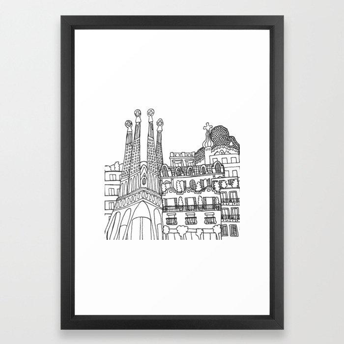 Barcelona, Spain Print